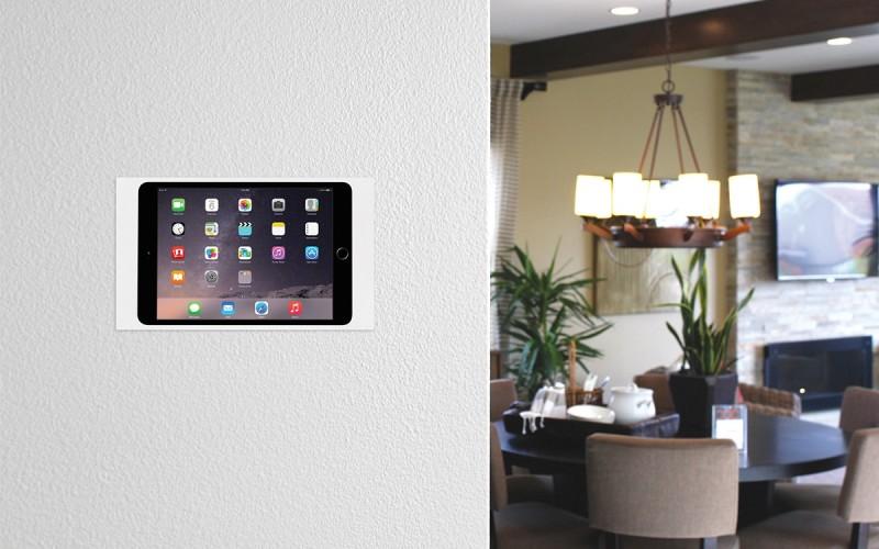 Panele sterujące i sterowanie iPad